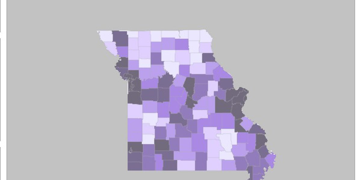 1,317 new cases of COVID-19 in Mo.