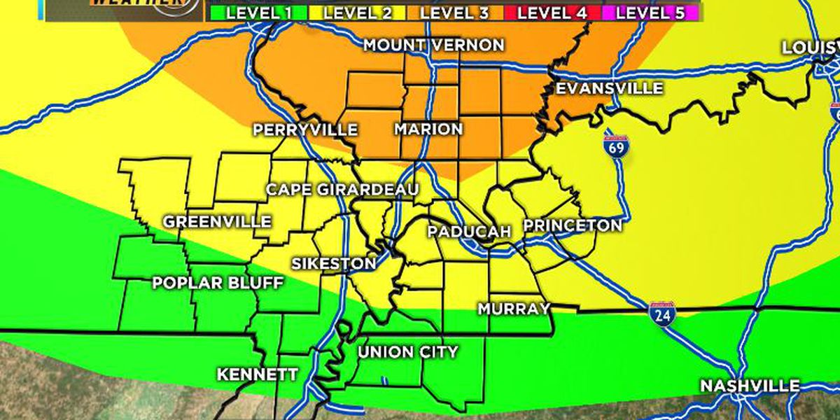 First Alert: Heat, humidity and a few strong storms