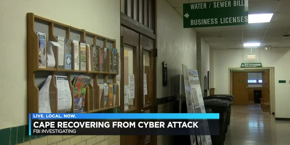 Cape Girardeau City recovering from cyber attack