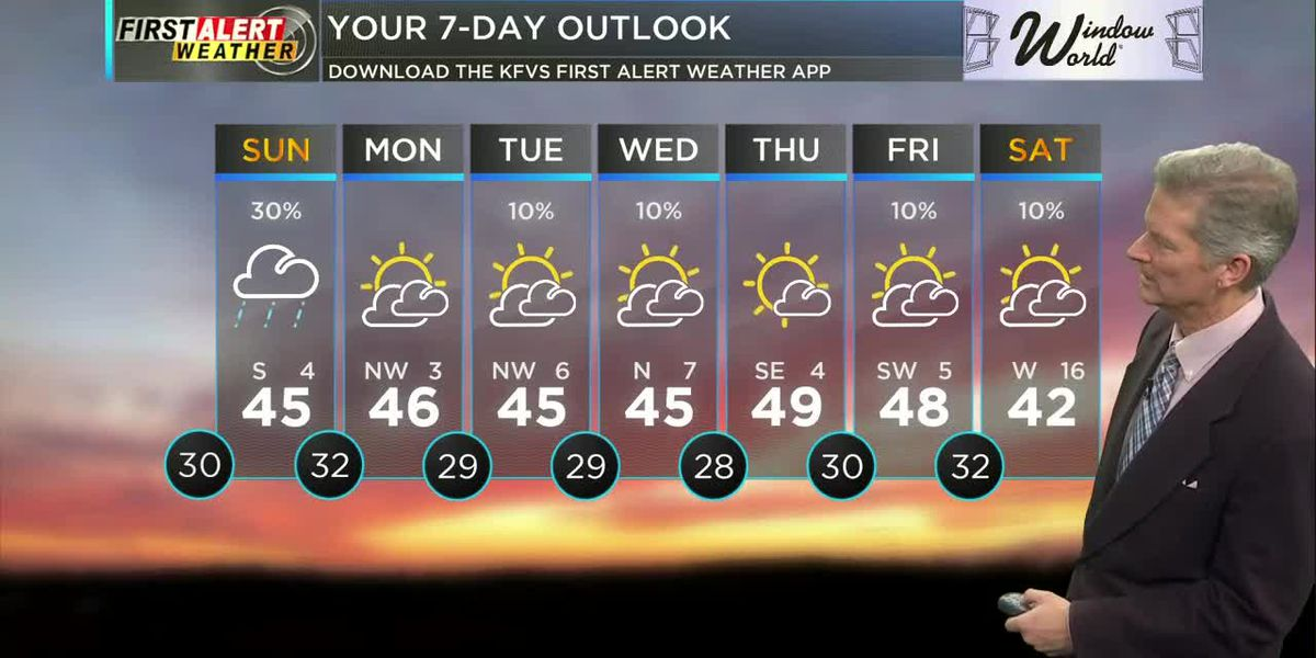 First Alert Weather Forecast at 6:00 a.m. 1/25