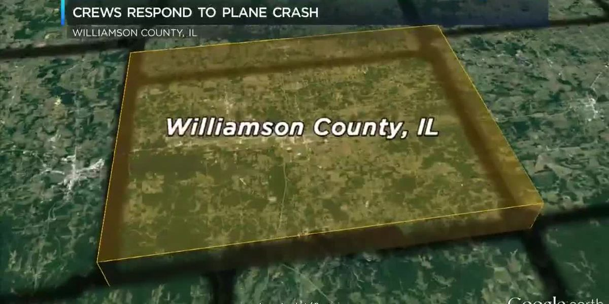 Crews respond to plane crash at airport in Marion, Ill.