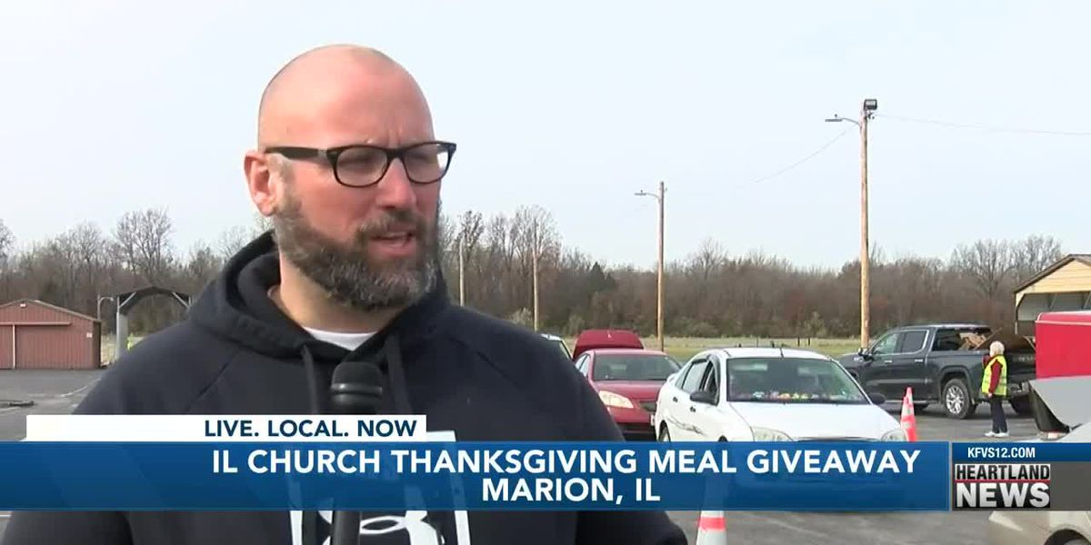 Ill. Church Thanksgiving meal giveaway