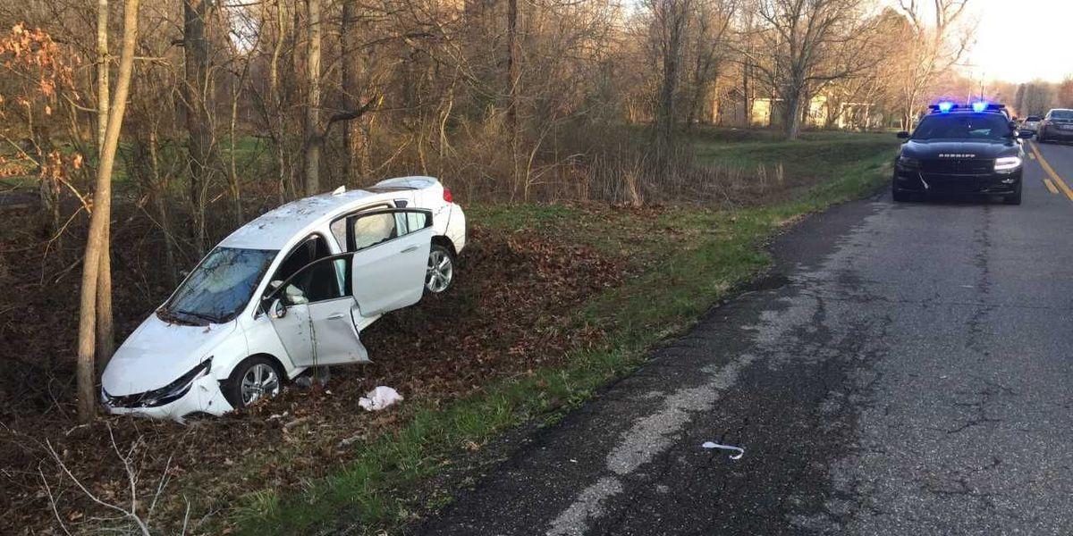 Deer in the roadway lead to crash in McCracken Co., KY