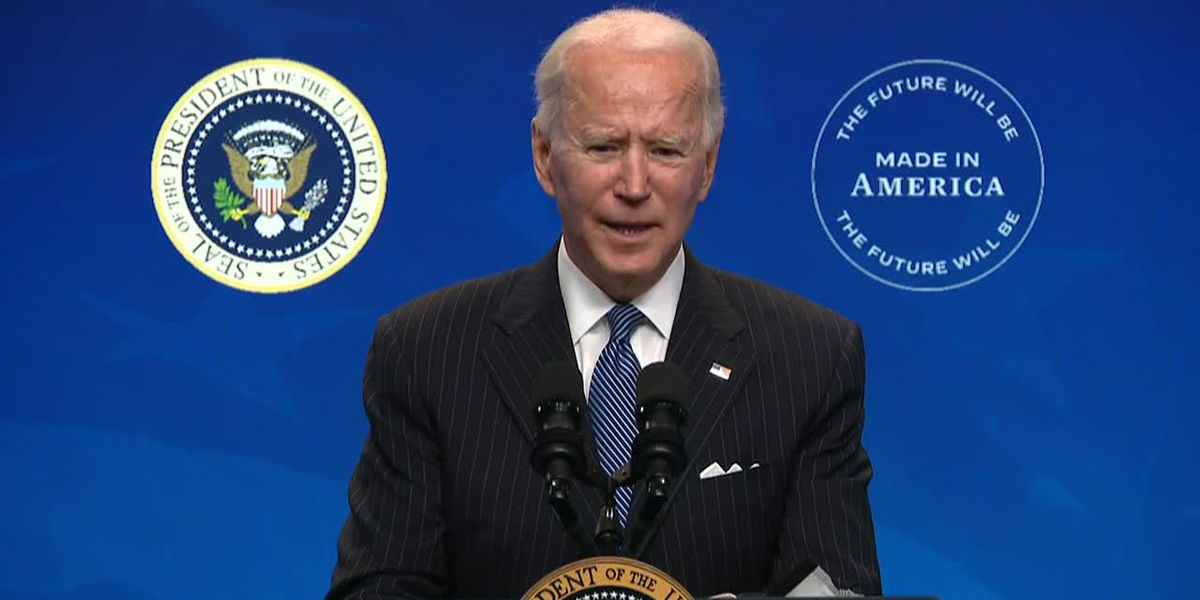 LIVE: Biden speaks on fight to contain COVID-19 pandemic