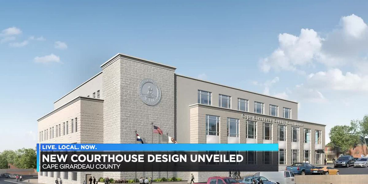 New Cape Girardeau County Courthouse design unveiled