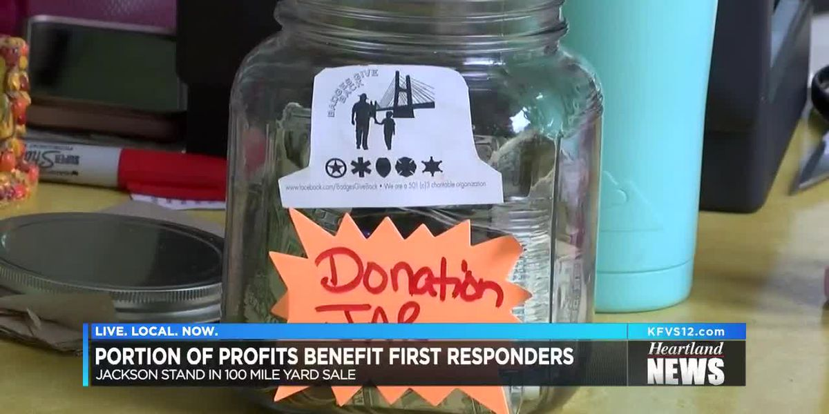 Some 100-mile yard sale profits benefit first responders
