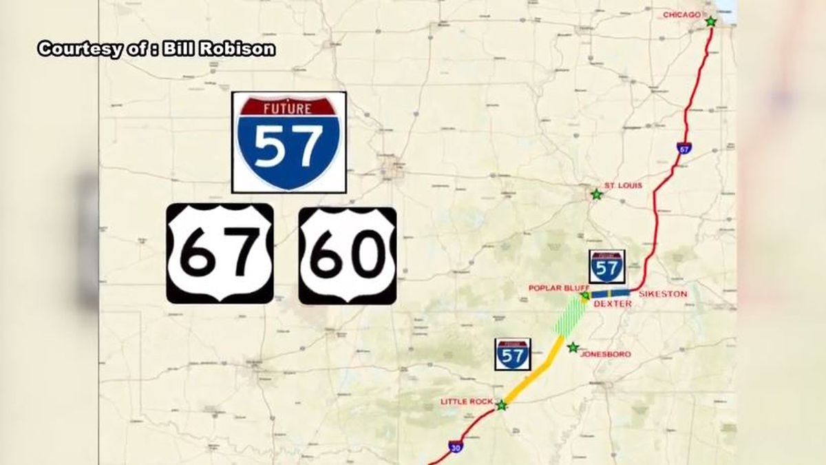 Plans to extend I-57 in MO underway