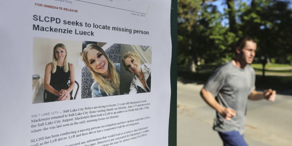Police clear Lyft driver in search for missing Utah student