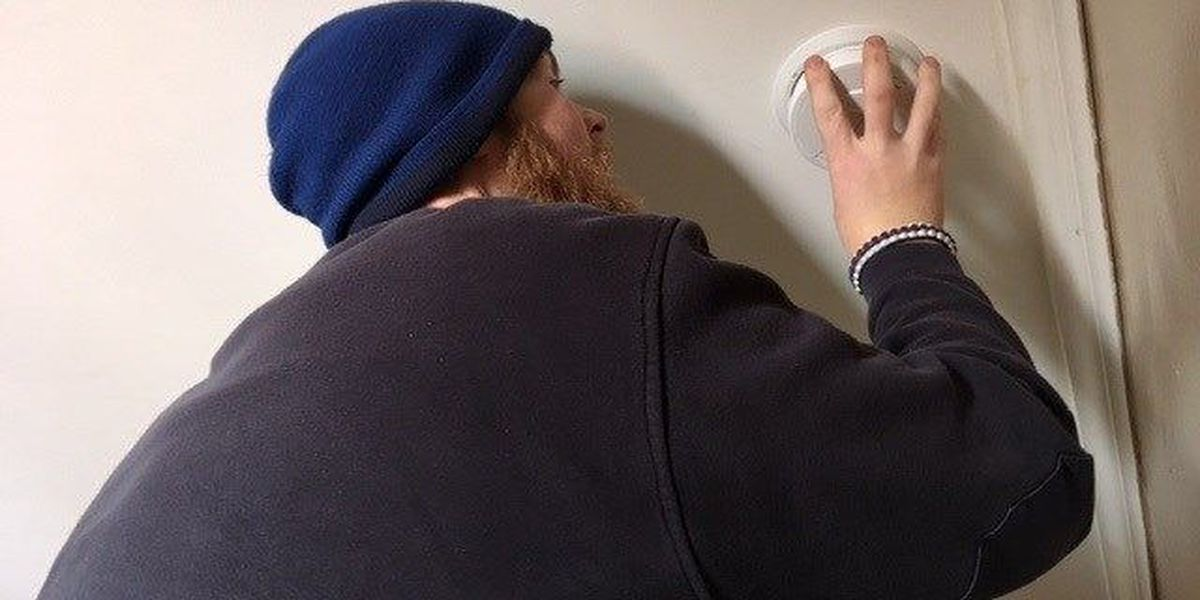 Cairo residents get much needed smoke detectors