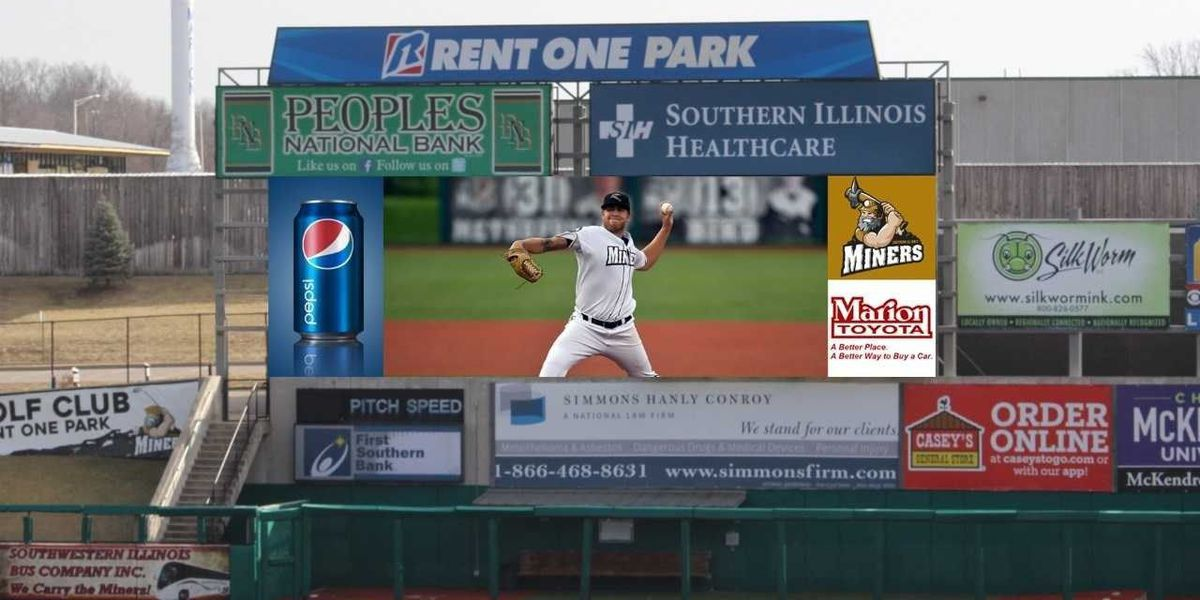 Southern Illinois Miners bring new video board to Rent One Park