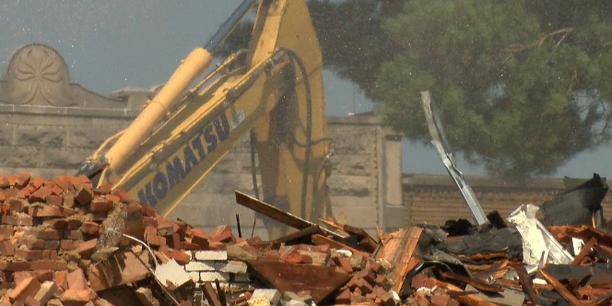 Historical Franklin Co. Courthouse demolished after 145 years of service