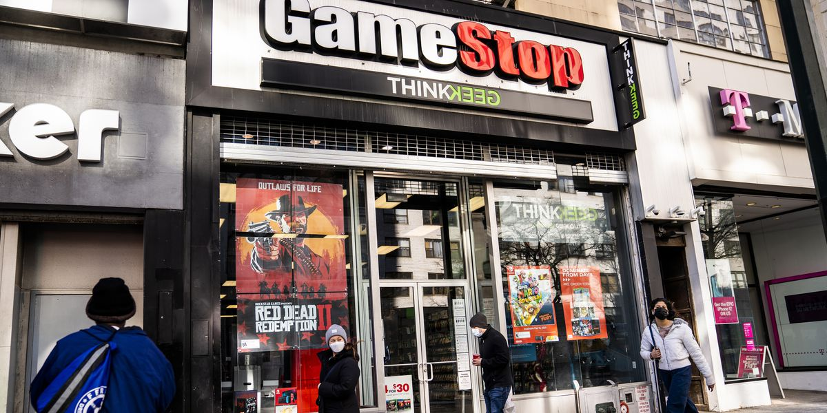 Meme fave GameStop focuses on digital shift and stock flies again