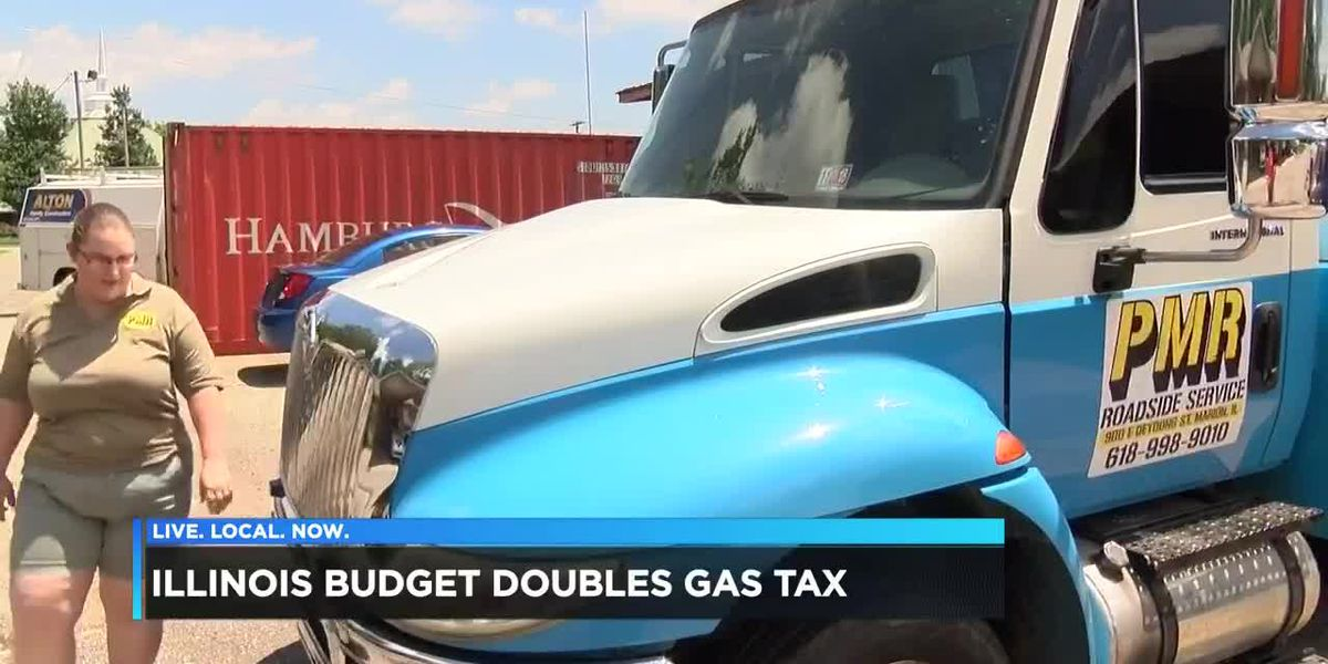 Illinois budget doubles gas tax, affects businesses