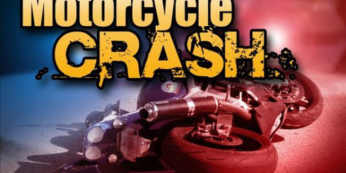 Motorcycle and car collided leaving man in critical condition