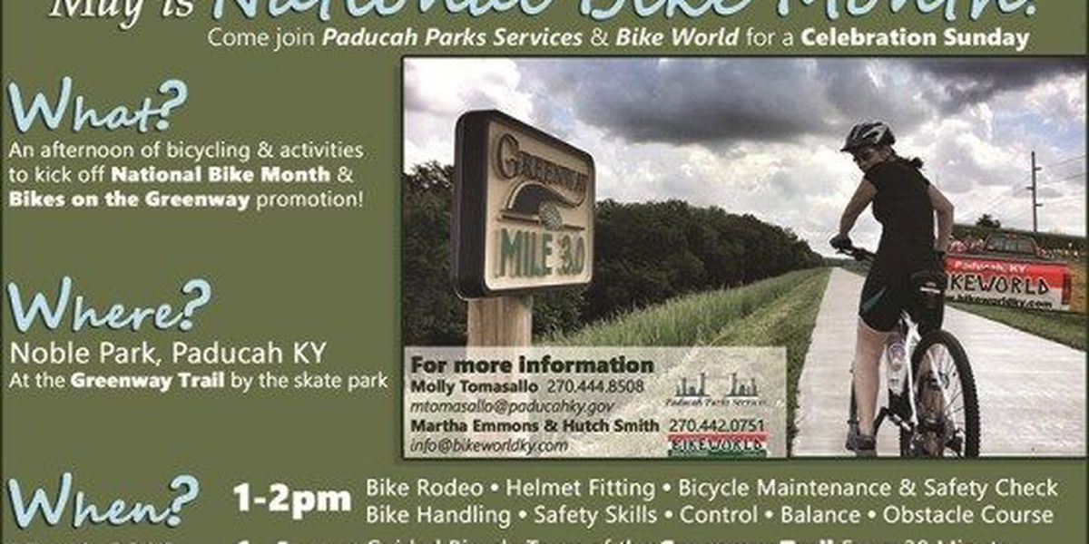 Bikes on the Greenway Event in Paducah, KY