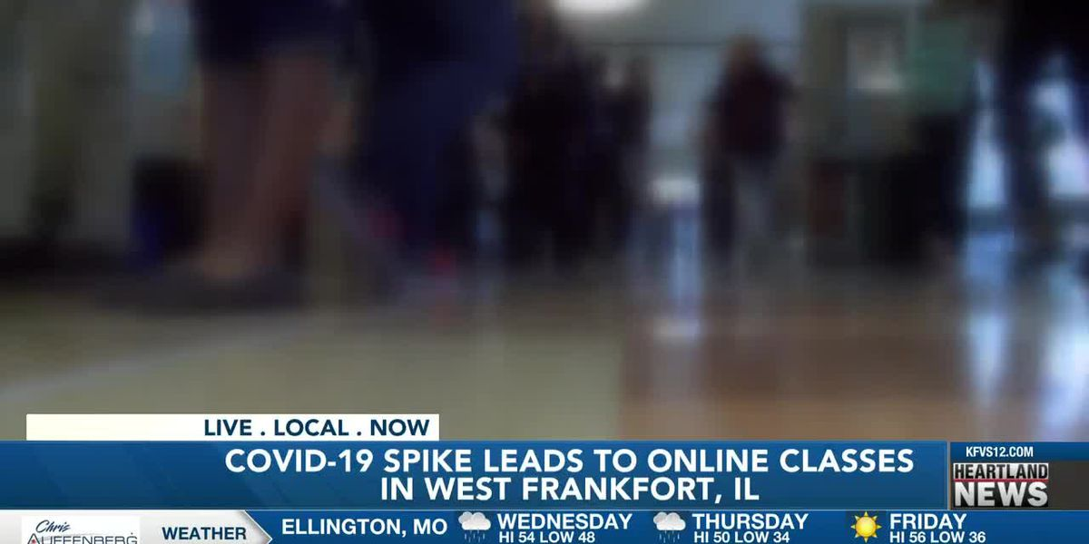 COVID-19 spike leads to online classes in West Frankfort