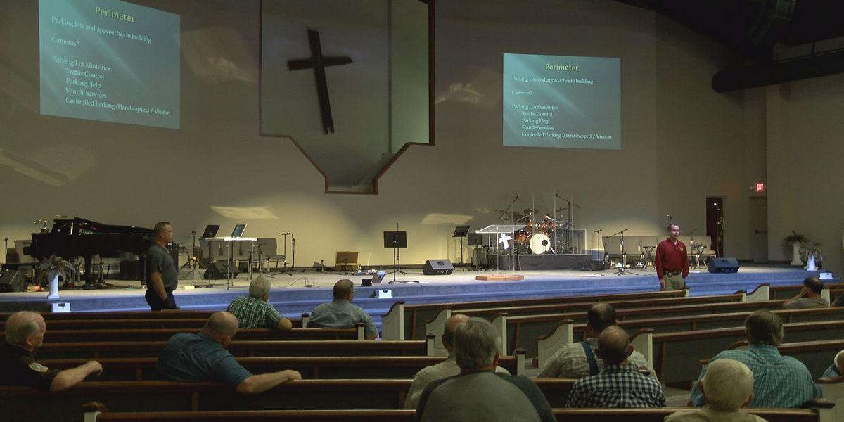 Church safety workshop in Williamson Co., IL