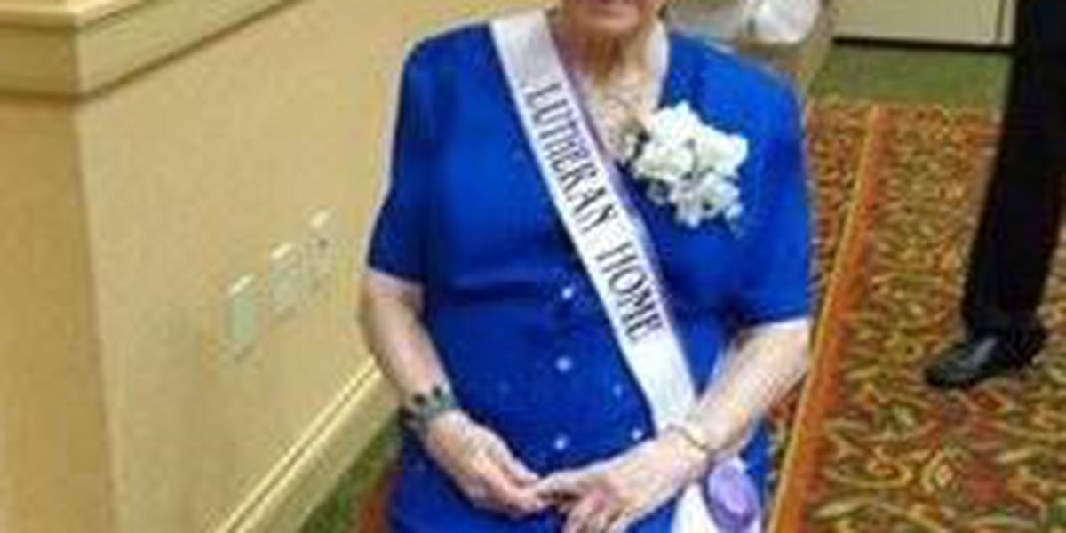 99-year-old Lutheran Home resident takes home pageant crown