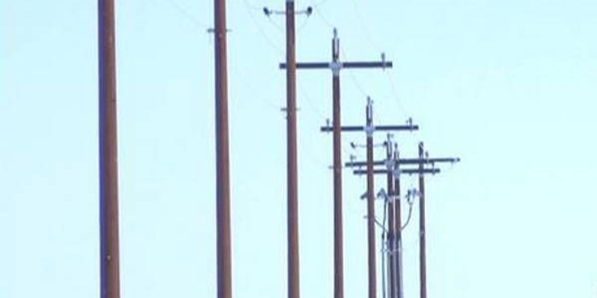 Site open in Crittenden Co., Ky after power poles down along KY 506