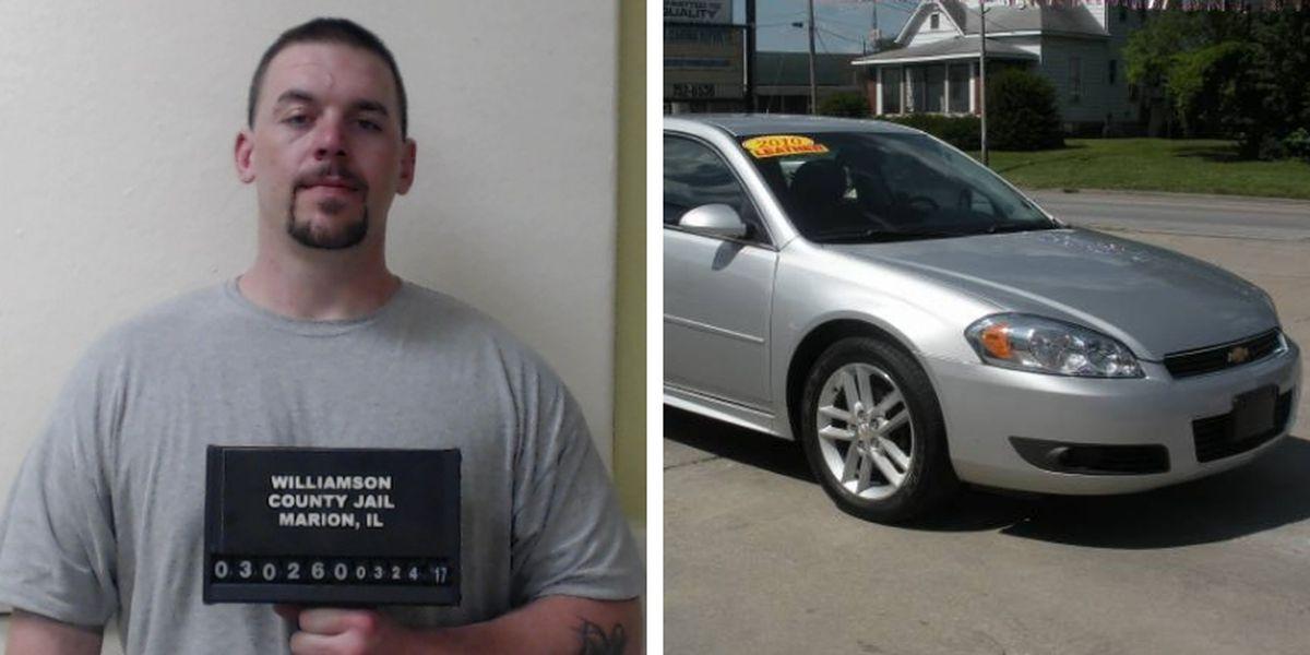 Good Samaritan's car stolen; police searching for suspect, vehicle