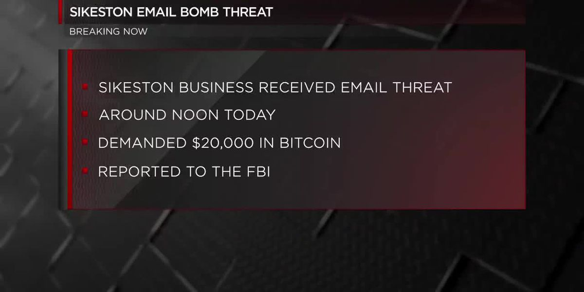 Sikeston email bomb threat