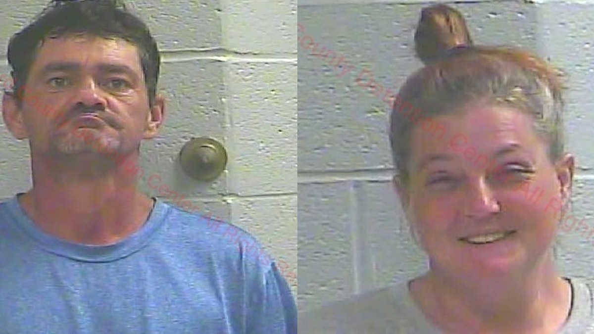 Man and woman arrested on burglary and drug charges in Carlisle County, Ky.