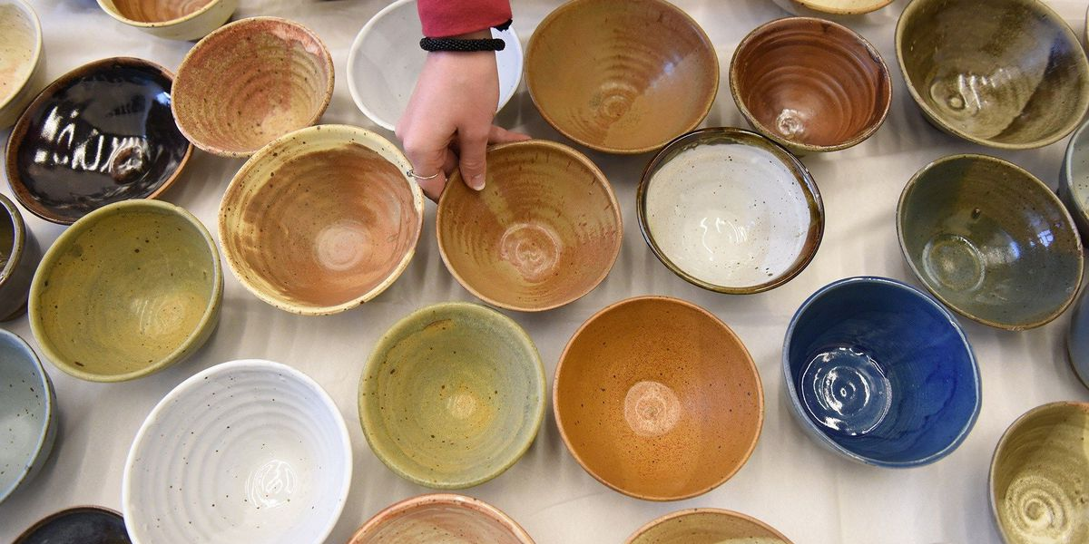 Empty Bowls fundraiser for hunger relief