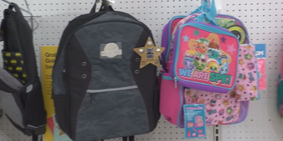 Backpacks for Success drive in Carbondale, Ill.
