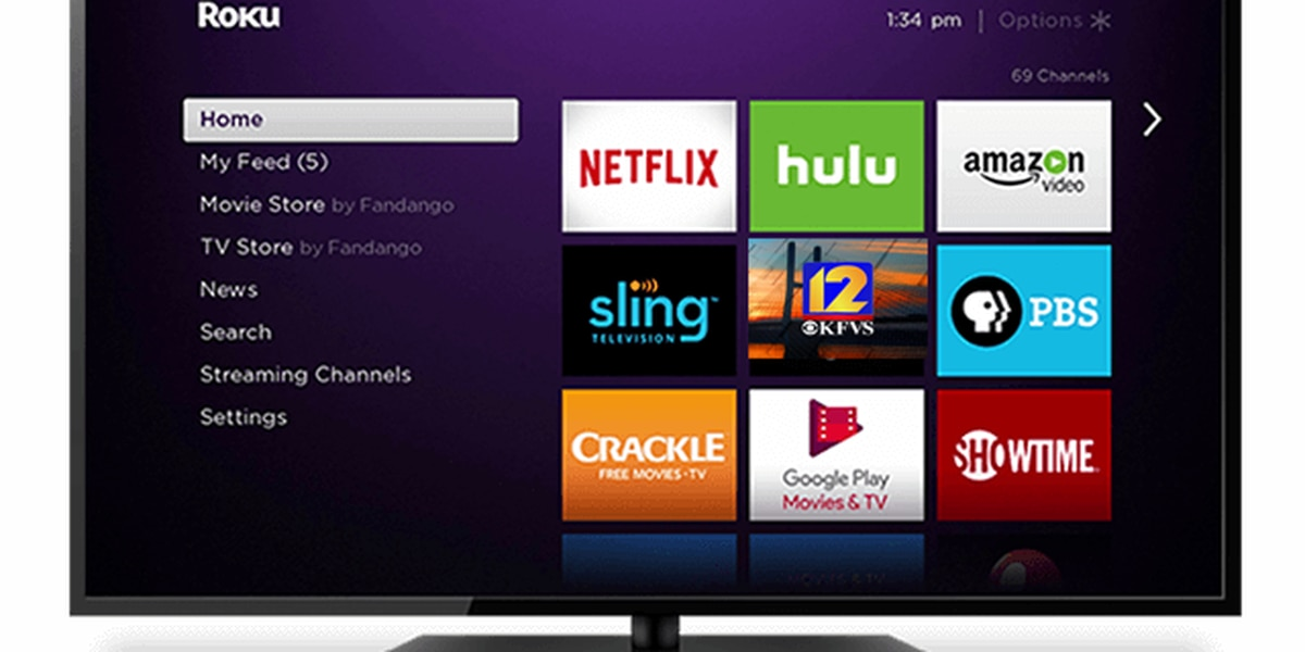 Find KFVS on your Roku!