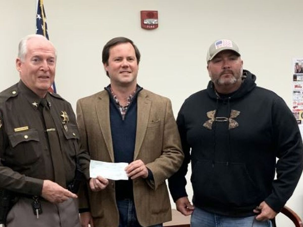 Donation made to Williamson Co. Sheriff's Dpt. for new police K-9