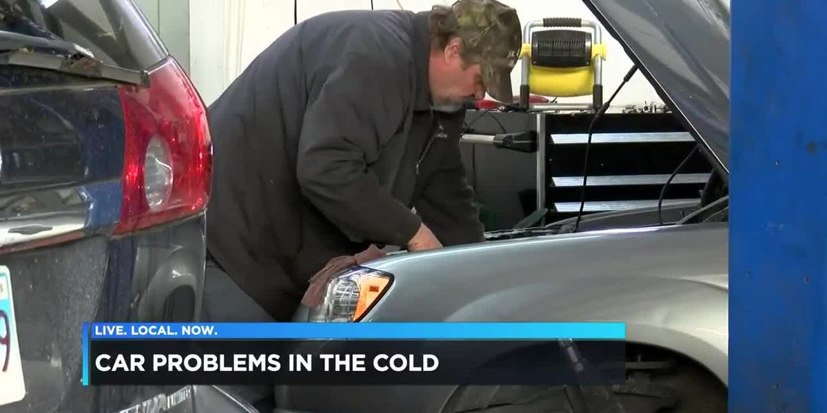 Car problems from icy conditions