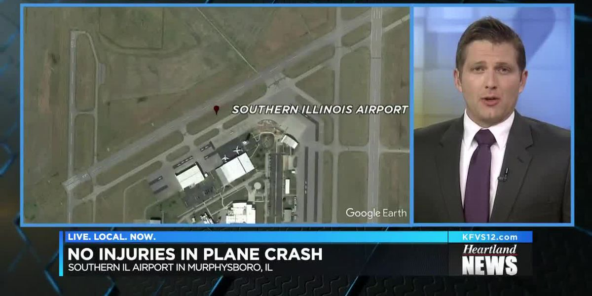 No injuries after southern Ill. plane crash