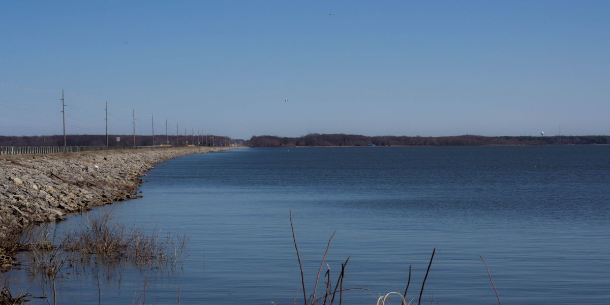 Goose hunting pit available at Rend Lake for persons with disabilities