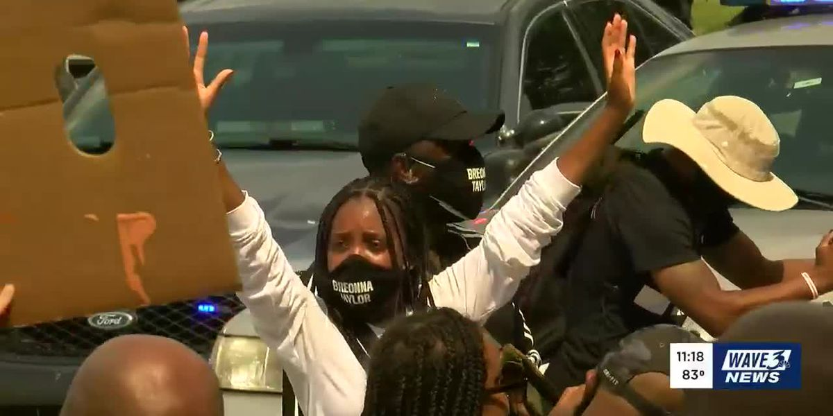 68 protest-related arrests confirmed in Louisville Tuesday