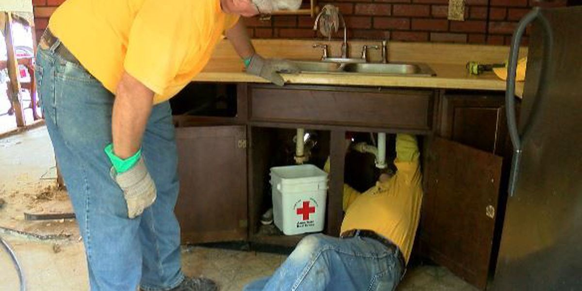 Disaster Relief Team helps Marion family recover from flood damage