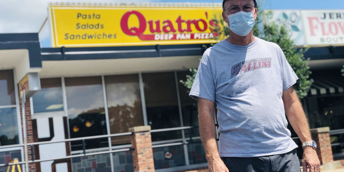 Quatro's Deep Pan Pizza reopens for pickup, delivery only