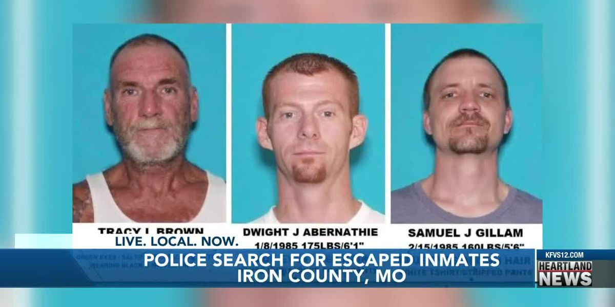 Police search for escaped inmates