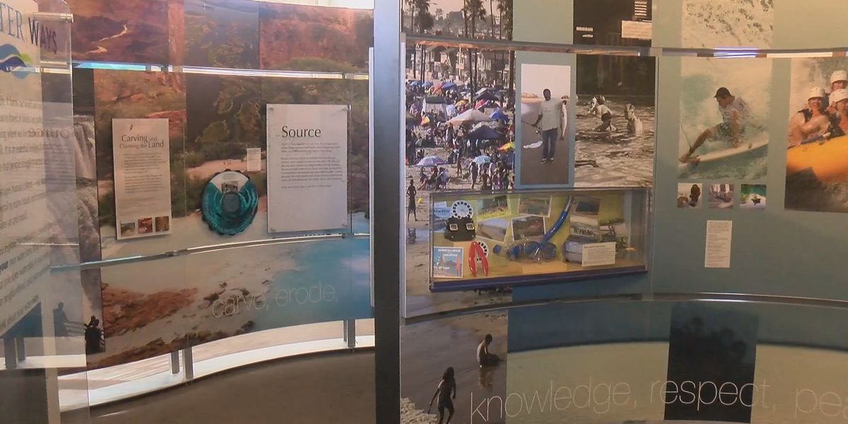 Smithsonian water exhibit shown in downtown Cape Girardeau