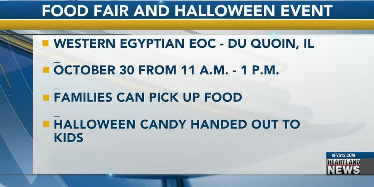 Du Quoin holds Halloween food fair