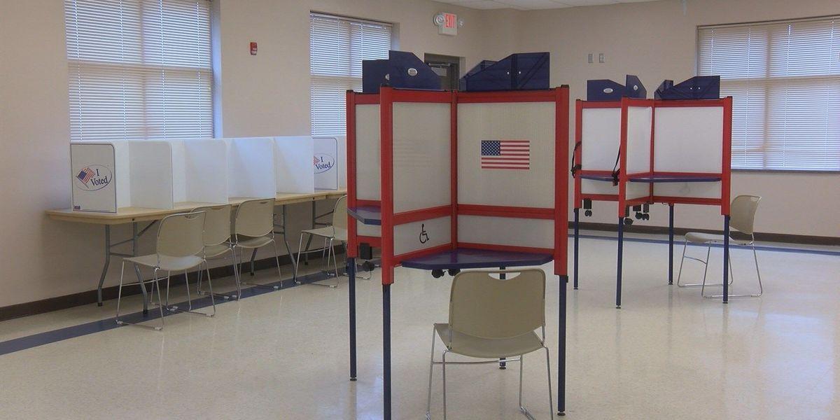 Polling places prepared for tornado chances