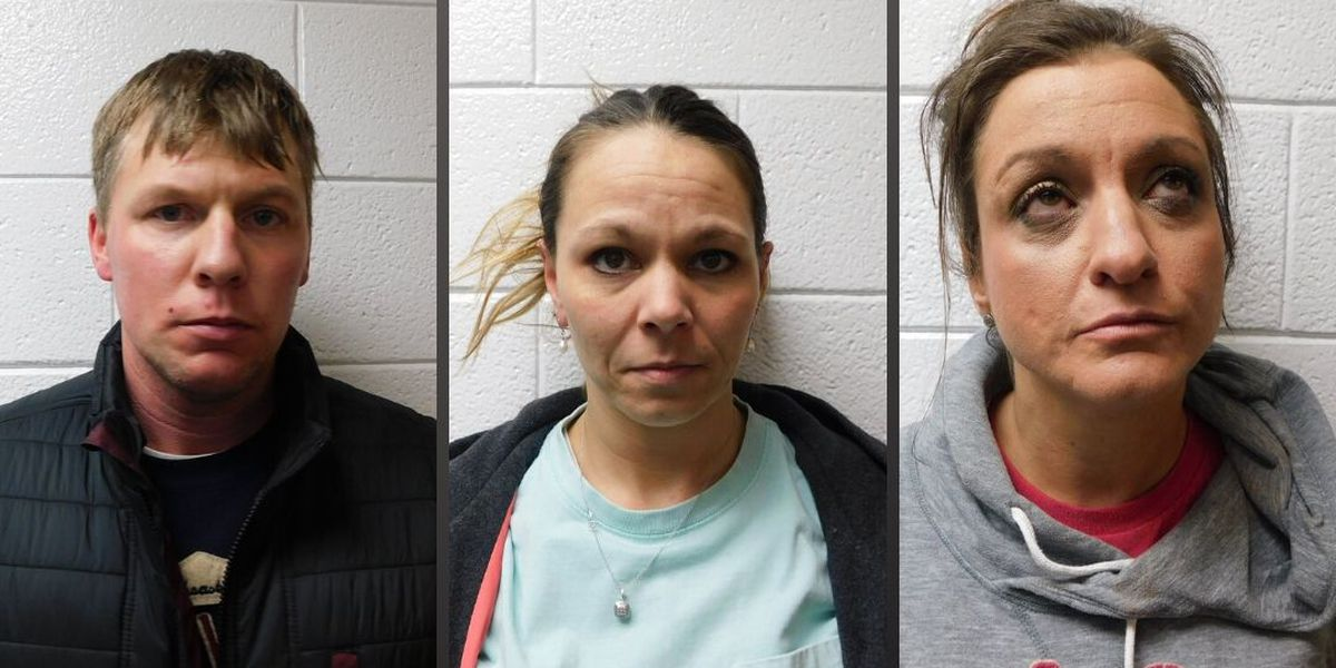 1 man, 2 women arrested on drug, firearm charges in Ky.