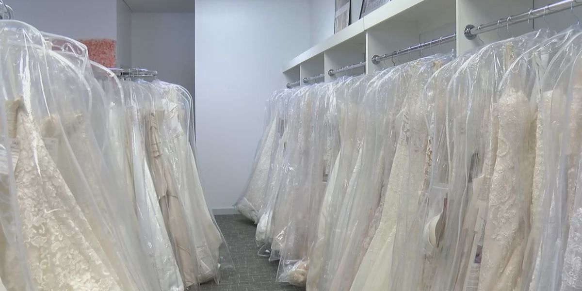 Coronavirus epidemic impacts the wedding and formal dress industry