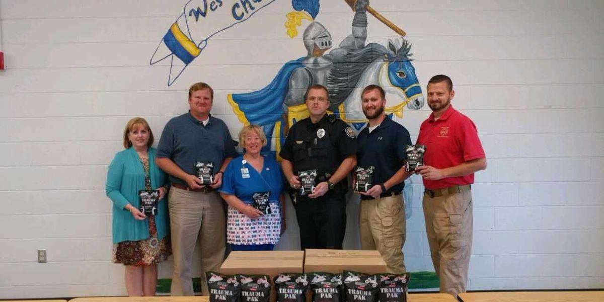 Weakley schools receive emergency trauma packs