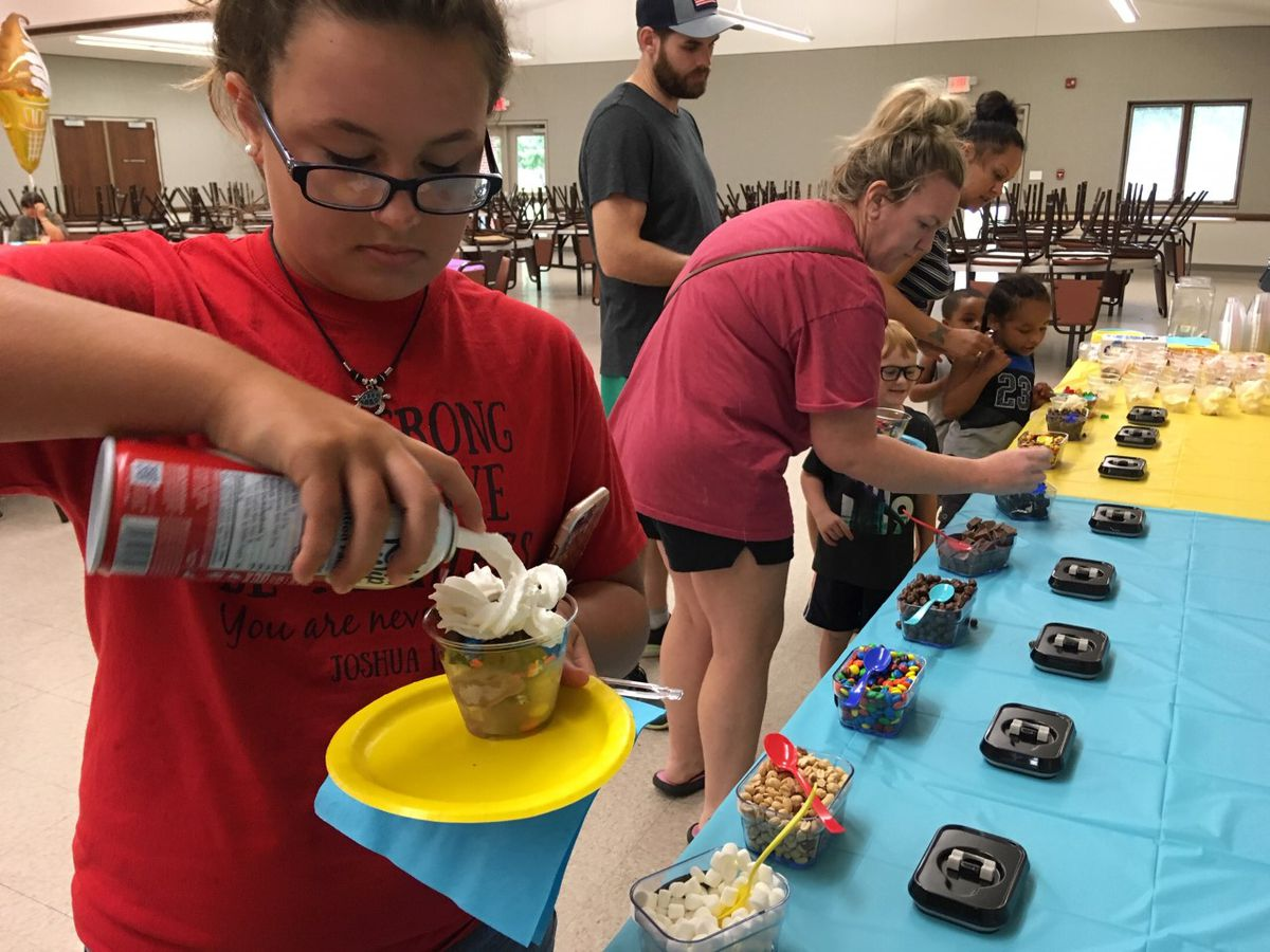 Ice Cream Social in Sikeston helps Special Olympics event