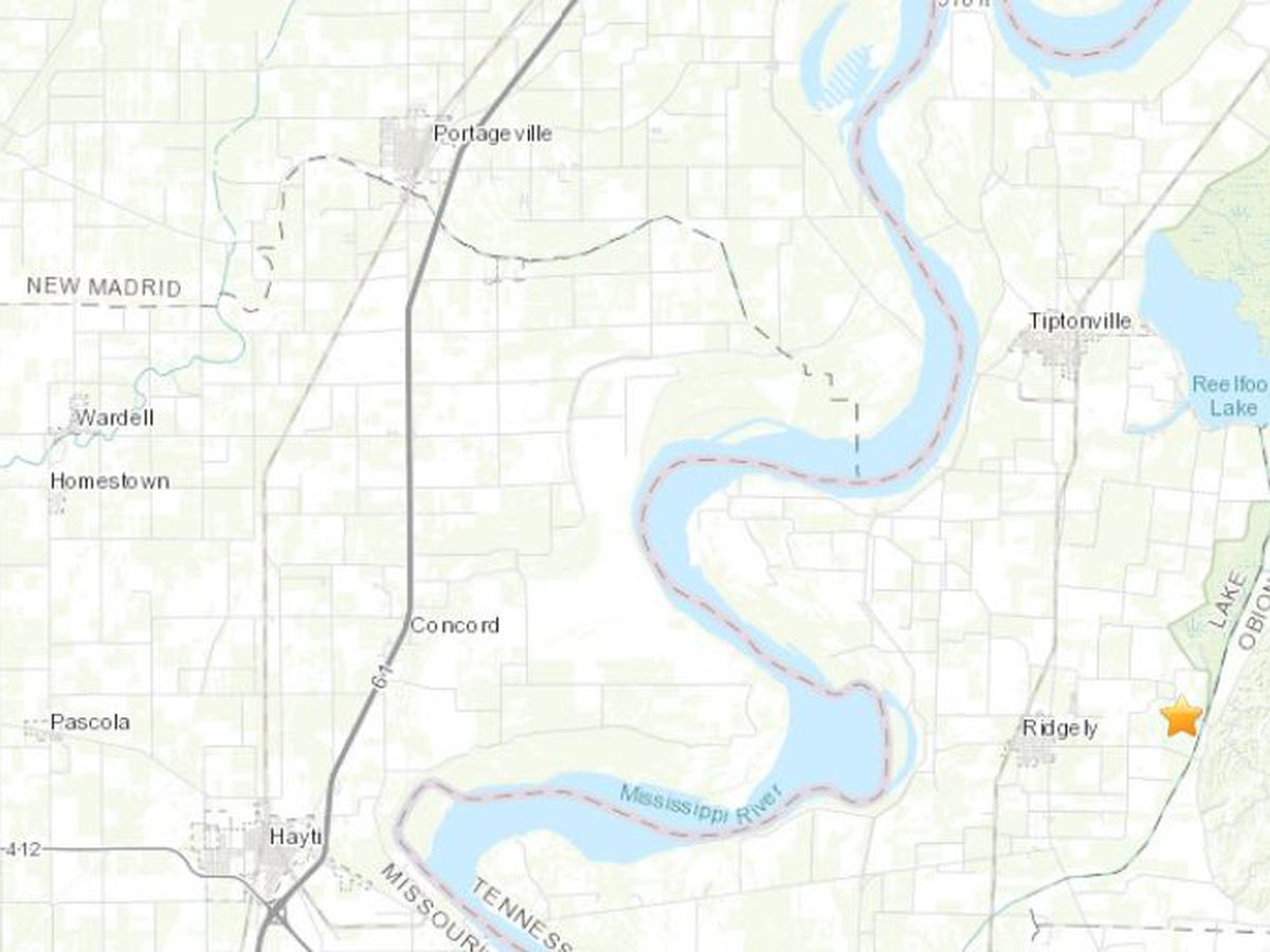 Magnitude 3.2 earthquake rattles in TN
