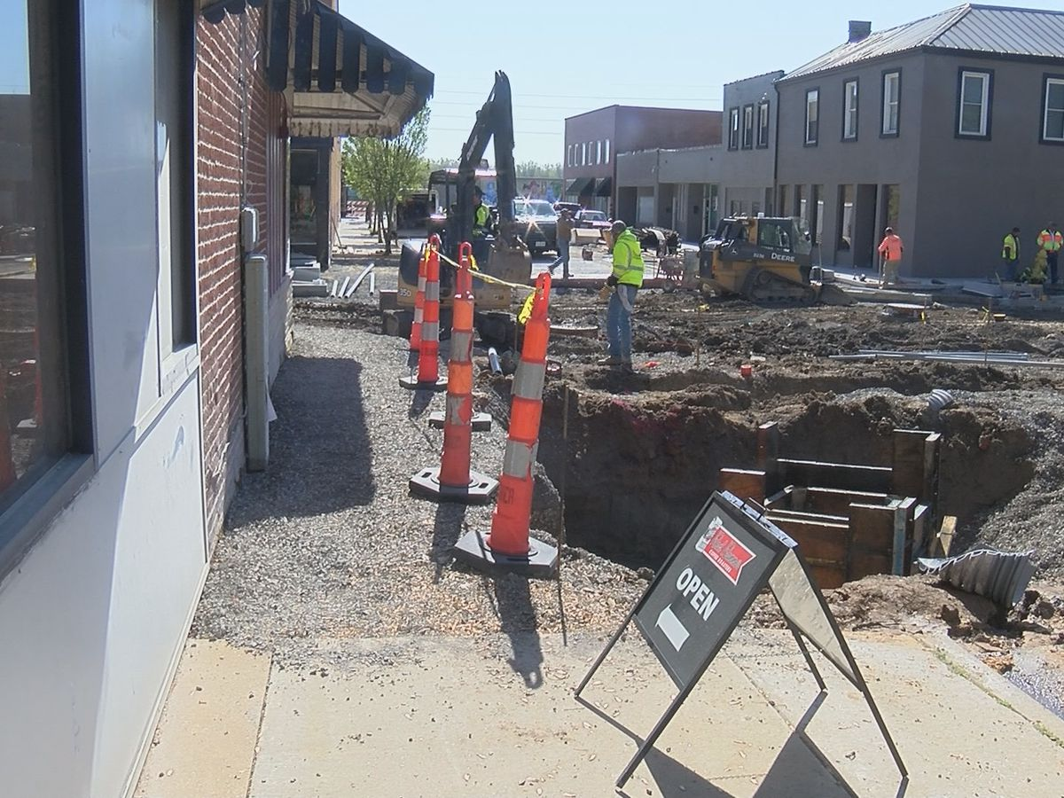 Businesses impacted by Spanish St. construction project