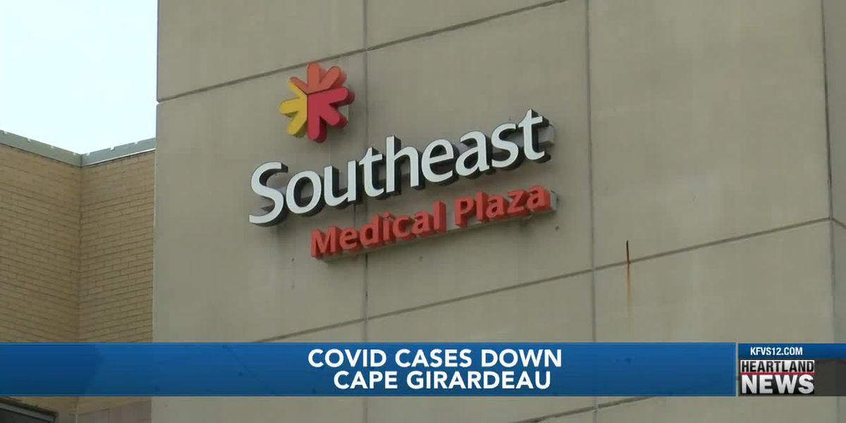 COVID cases are down in Cape Girardeau