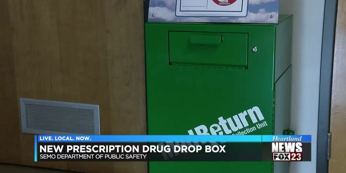 New prescription drug box at SEMO DPS