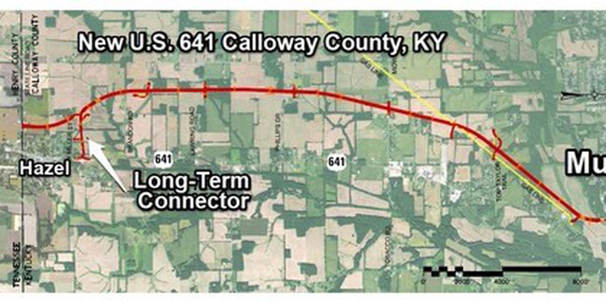 Construction picks up on new U.S. 641 in southern Calloway Co., Ky.