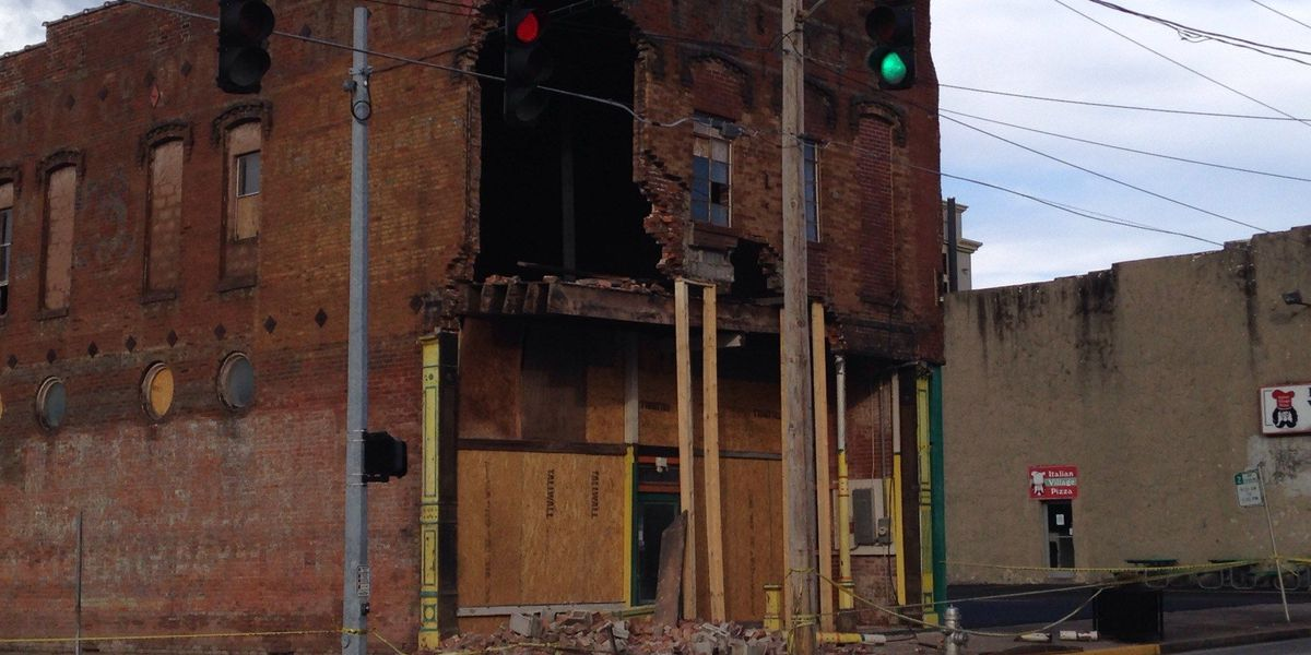 Part of Paducah building removed after collapse